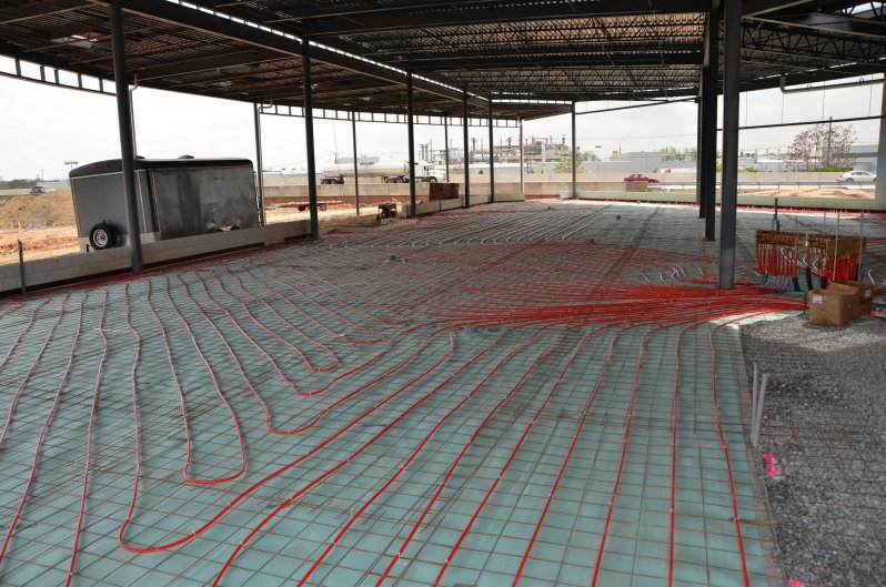 Faulkner BMW  Radiant Floor Heat and Snowmelt Systems  ATI Systems